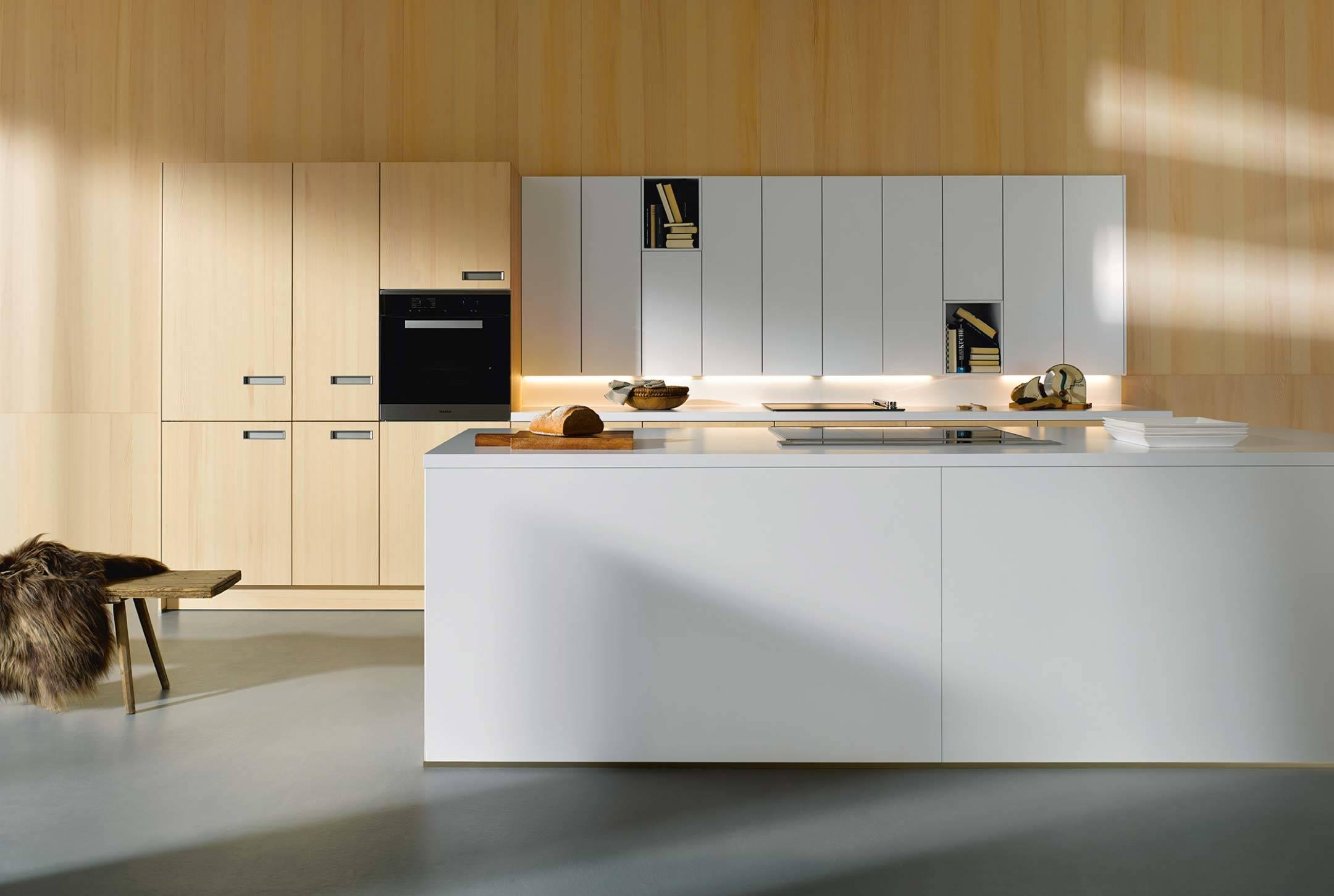 Küche Fronten weiß