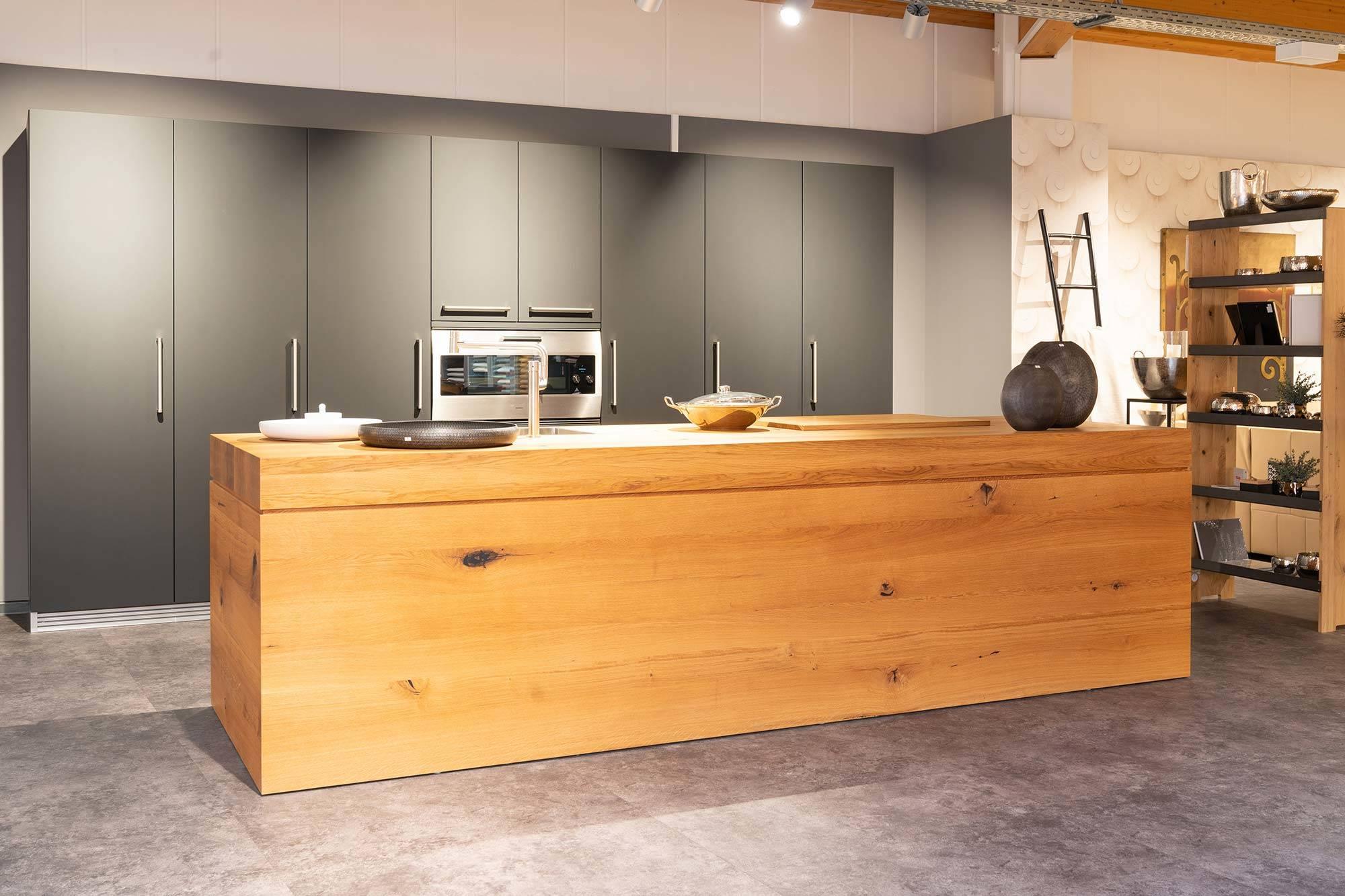 Küche Massivholz Eiche